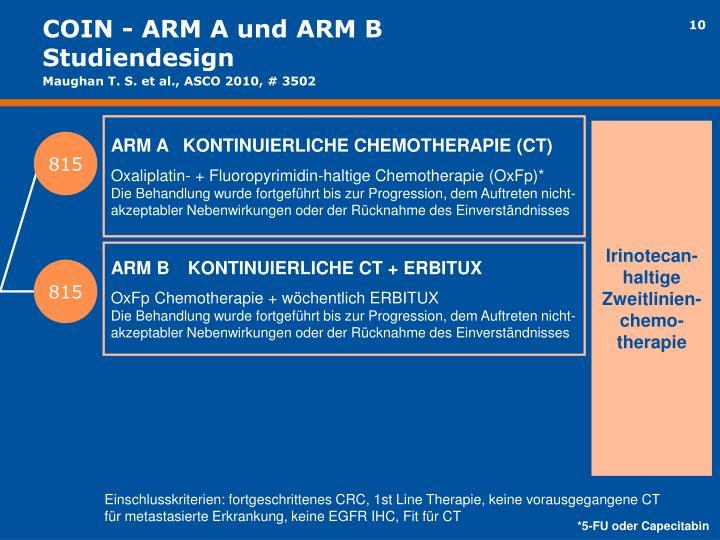 COIN - ARM A und ARM B