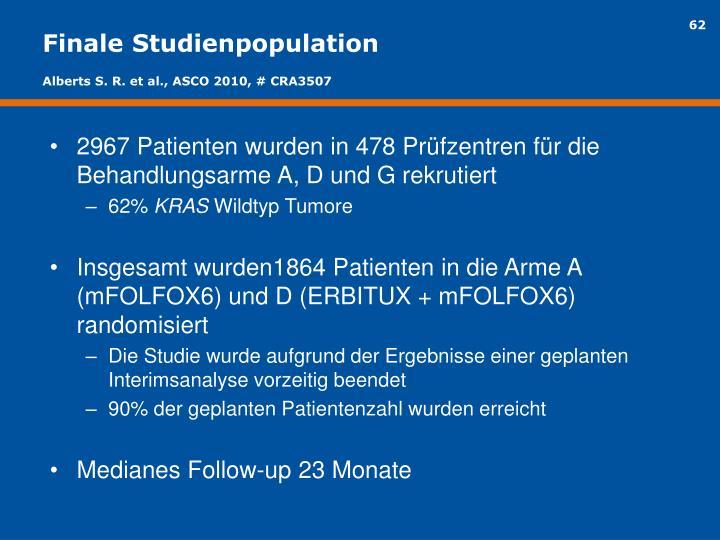 Finale Studienpopulation