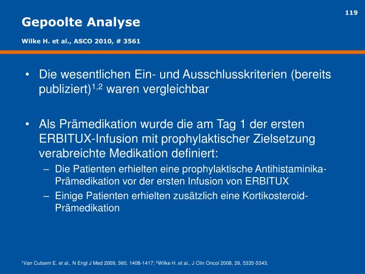 Gepoolte Analyse