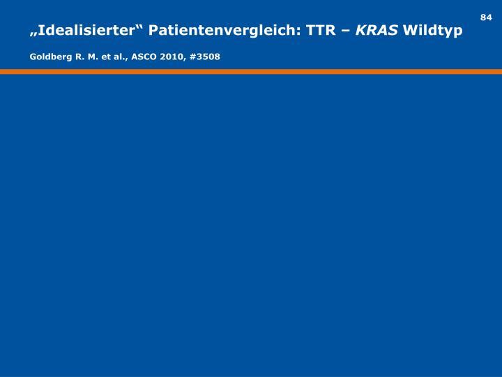 """""""Idealisierter"""" Patientenvergleich: TTR –"""