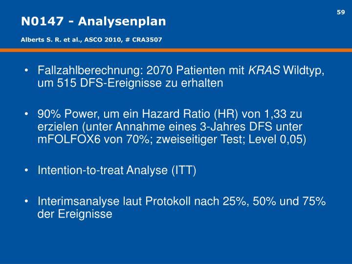 N0147 - Analysenplan