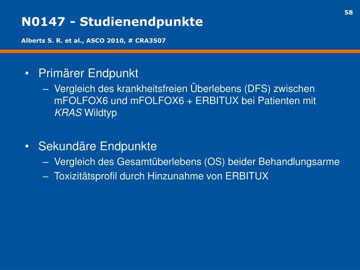 N0147 - Studienendpunkte