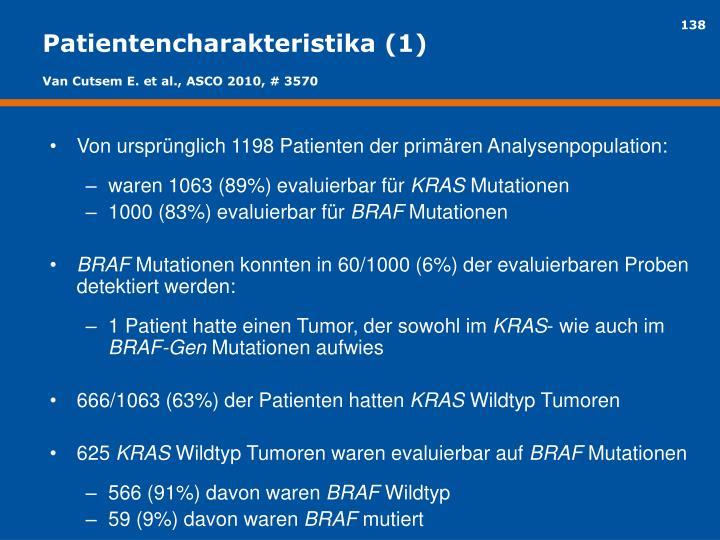 Patientencharakteristika (1)