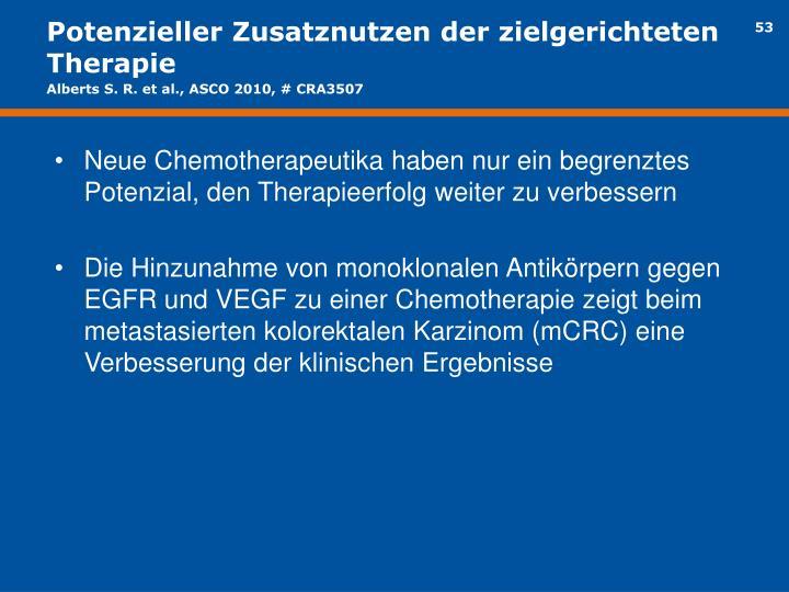 Potenzieller Zusatznutzen der zielgerichteten Therapie