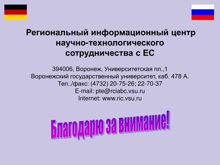 Региональный информационный центр