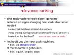 relevance ranking2