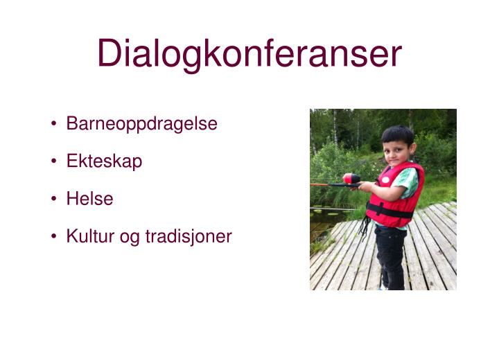 Dialogkonferanser
