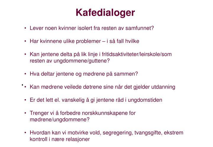 Kafedialoger