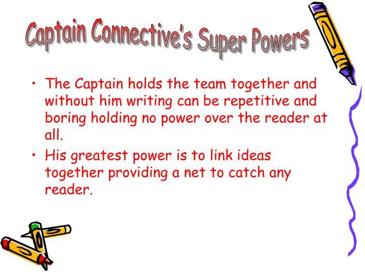 Captain Connective's Super Powers