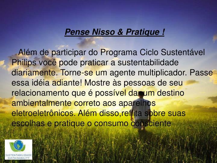 Pense Nisso & Pratique !