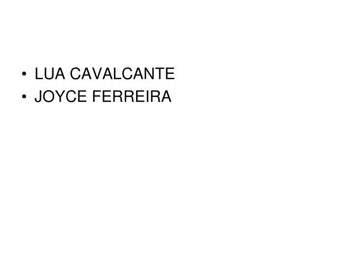 LUA CAVALCANTE