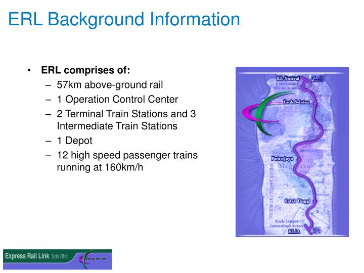 ERL Background Information