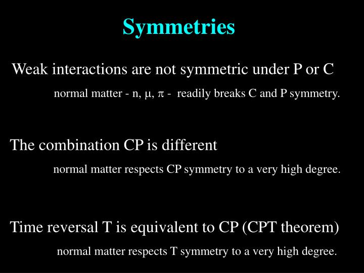 Weak interactions are not symmetric under P or C