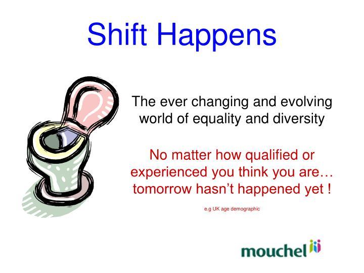 Shift Happens