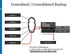 centralised consolidated backup