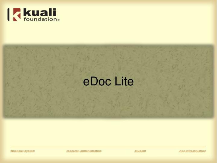 eDoc Lite