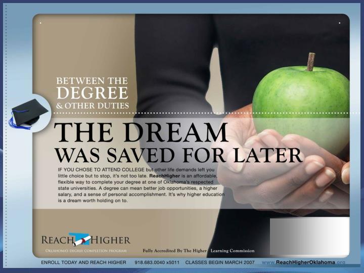 Adult Degree-Completion Program