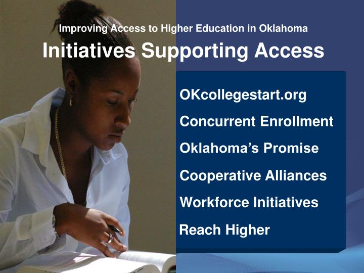 Improving Access to Higher Education in Oklahoma