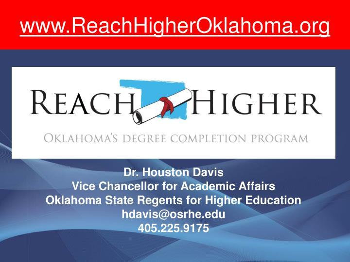 www.ReachHigherOklahoma.org