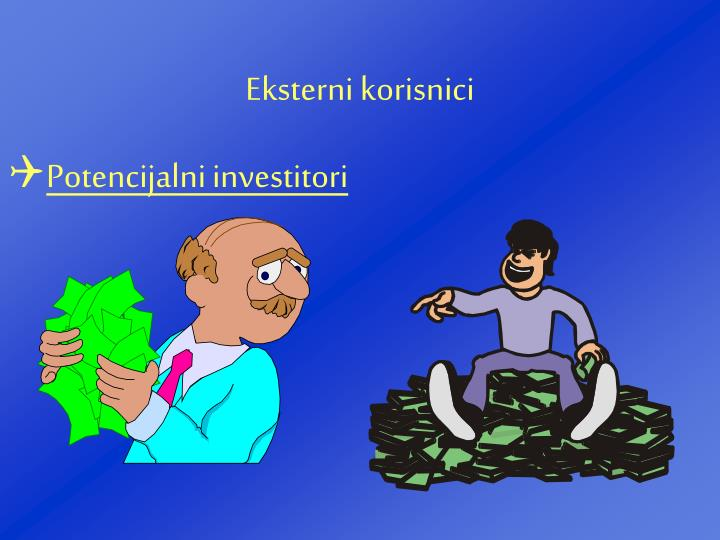 Potencijalni investitori