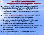 2010 sys y ksek retim programlar ve kontenjanlar k lavuzu