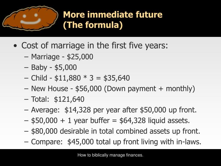 More immediate future