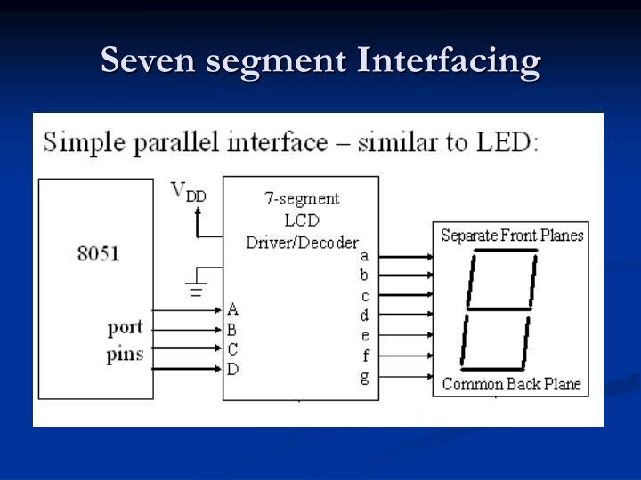 Seven segment Interfacing
