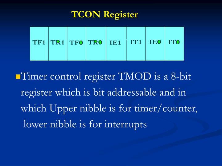 TCON Register