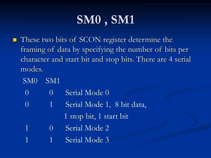 SM0 , SM1