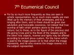 7 th ecumenical council1