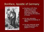 boniface apostle of germany