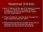 muhammad 570 632