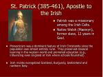 st patrick 385 461 apostle to the irish