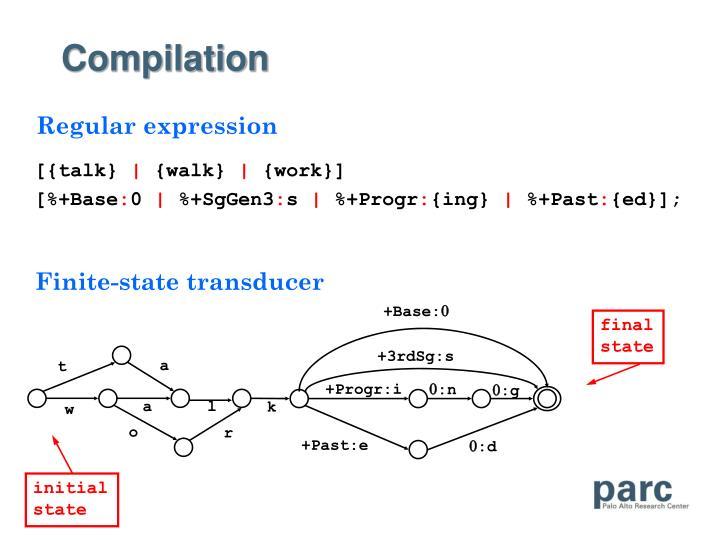 Finite-state transducer