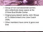 o hare intercity bus association