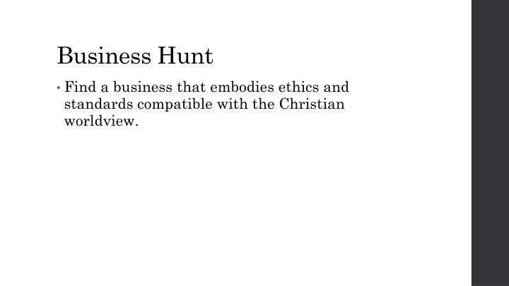 Business Hunt