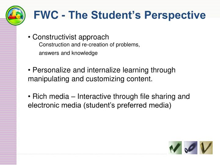 FWC - The Student's Perspective
