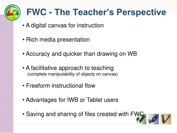 FWC - The Teacher's Perspective