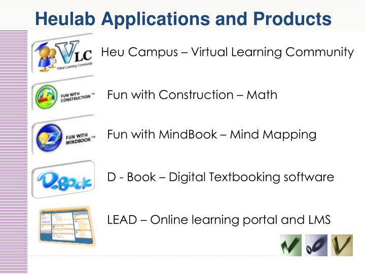 Heulab Applications and Products