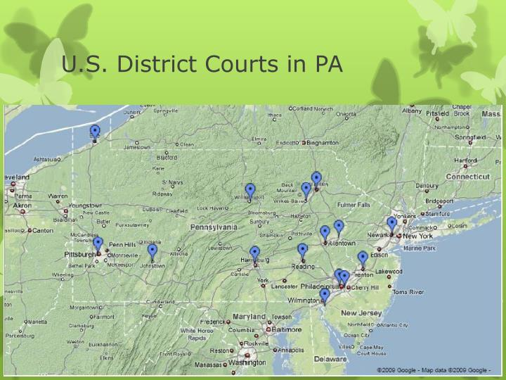 U.S. District Courts in PA