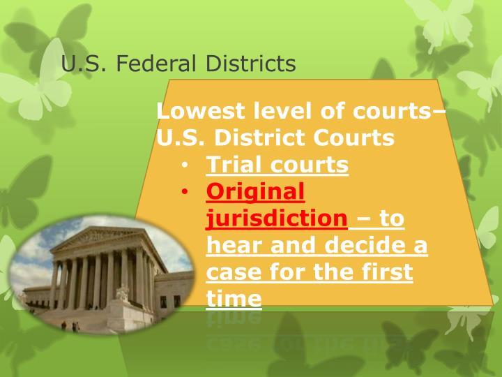 U.S. Federal Districts