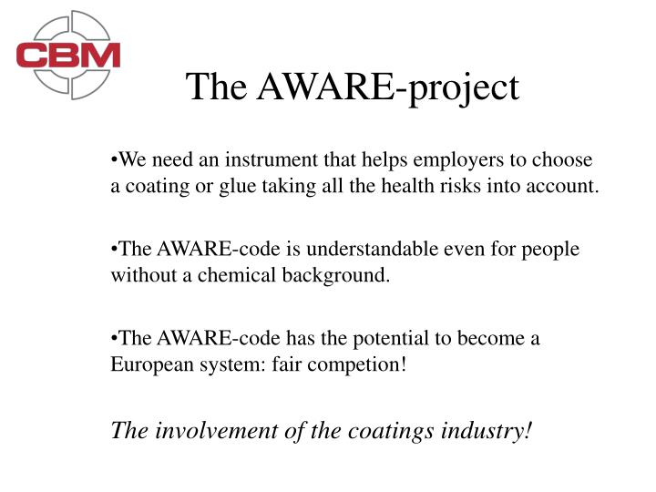 The AWARE-project