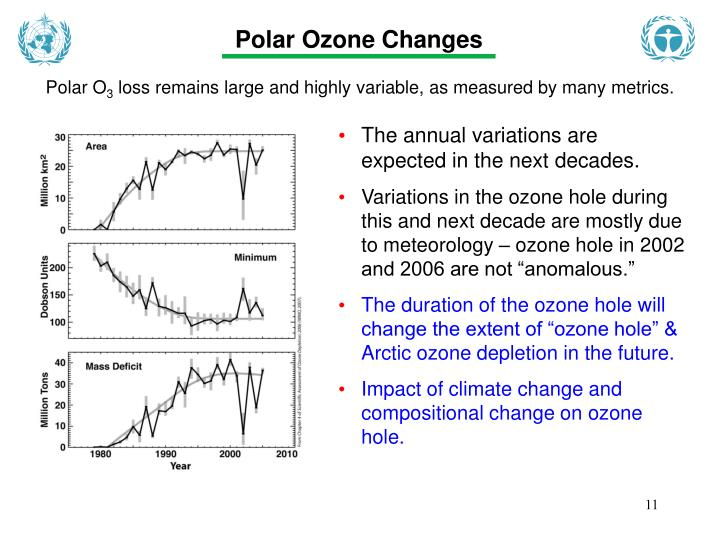 Polar Ozone Changes