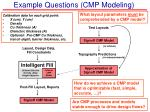 example questions cmp modeling