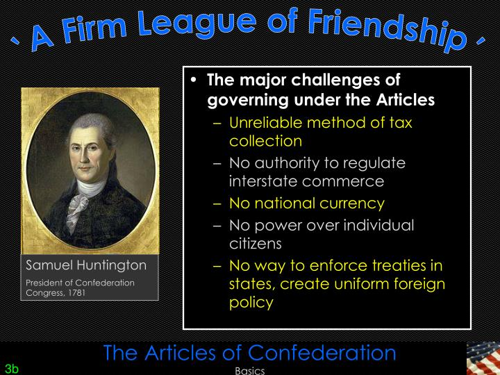 a major problem of the articles of confederation was that the document