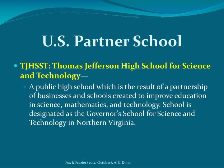 U.S. Partner School