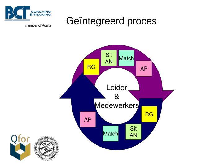 Geïntegreerd proces