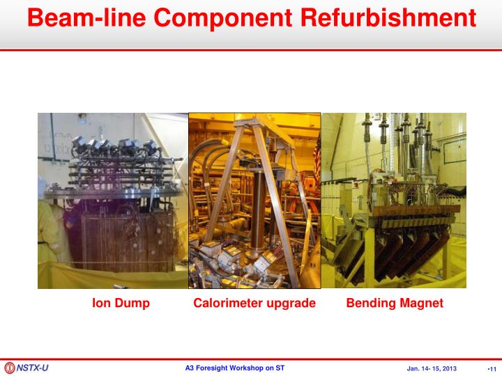 Beam-line Component Refurbishment