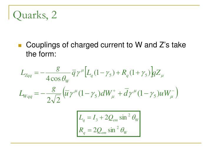 Quarks, 2