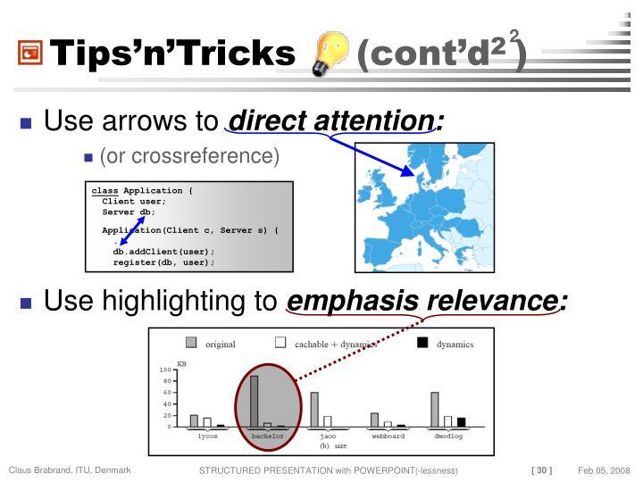 Tips'n'Tricks